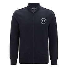 Buy Fred Perry Tennis Bomber Jacket, Navy Online at johnlewis.com