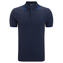 Buy Fred Perry Twin Tipped Slim Polo Shirt Online at johnlewis.com