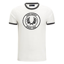 Buy Fred Perry Round 1952 Logo T-Shirt Online at johnlewis.com