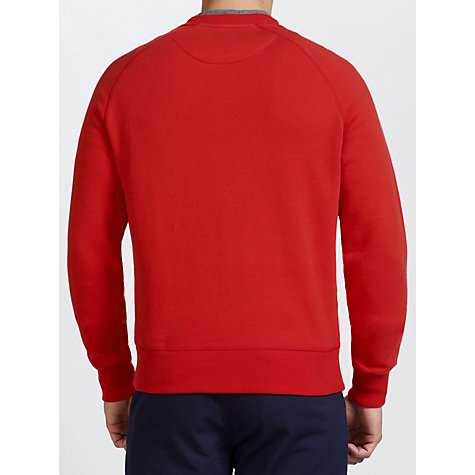Buy Fred Perry Raglan Cotton Sweatshirt Online at johnlewis.com