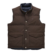 Buy Gant Reversible Gilet Online at johnlewis.com