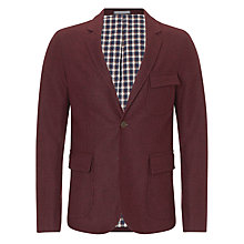 Buy Gant Weekender Pinpoint Blazer, Burgundy Online at johnlewis.com