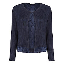 Buy Windsmoor Crinkle Jacket, Navy Online at johnlewis.com