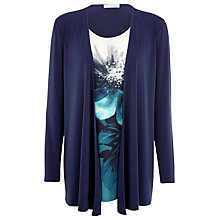 Buy Windsmoor 2 in 1 Floral Print Top, Blue Online at johnlewis.com