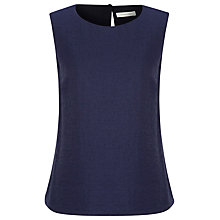 Buy Windsmoor Jacquard Shell Top, Navy Online at johnlewis.com