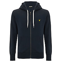 Buy Lyle & Scott Vintage Full Zip Slim Fit Hoodie, Navy Online at johnlewis.com