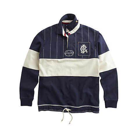 Buy Joules Clyde Block Stripe Rugby Shirt Online at johnlewis.com