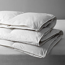 Buy John Lewis New Superior Siberian Goose Down Duvet, 10.5 Tog (7 + 3.5 Tog) All Seasons Online at johnlewis.com