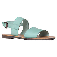 Buy KG by Kurt Geiger Fusion Leather Buckle Sandals Online at johnlewis.com