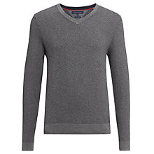 Buy Tommy Hilfiger Sid V-neck Jumper Online at johnlewis.com