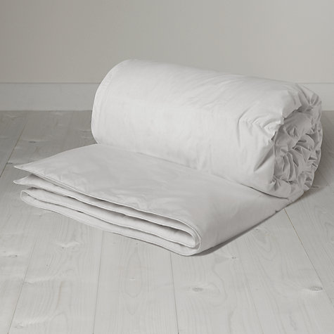 Buy John Lewis Supreme White Goose Down Duvet, 4.5 Tog Online at johnlewis.com