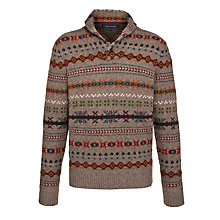 Buy Tommy Hilfiger Karl Shawl Collar Jumper Online at johnlewis.com