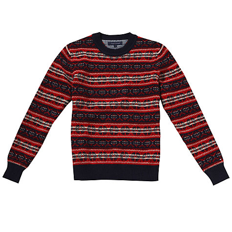 Buy Tommy Hilfiger Alexander Wool Rich Jumper Online at johnlewis.com