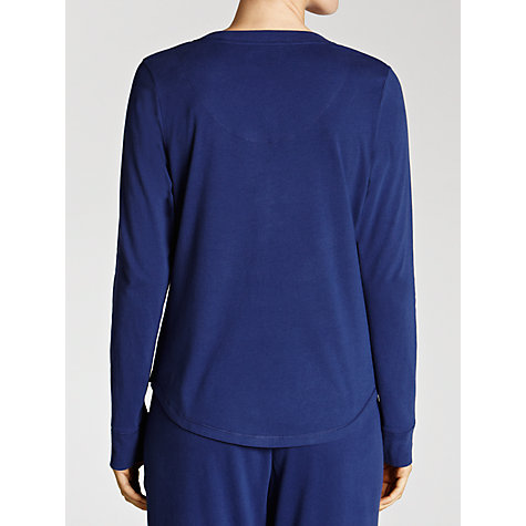 Buy John Lewis Pyjama Top, Navy Online at johnlewis.com