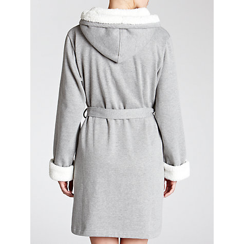Buy John Lewis Sherpa Marl Robe, Grey Marl Online at johnlewis.com
