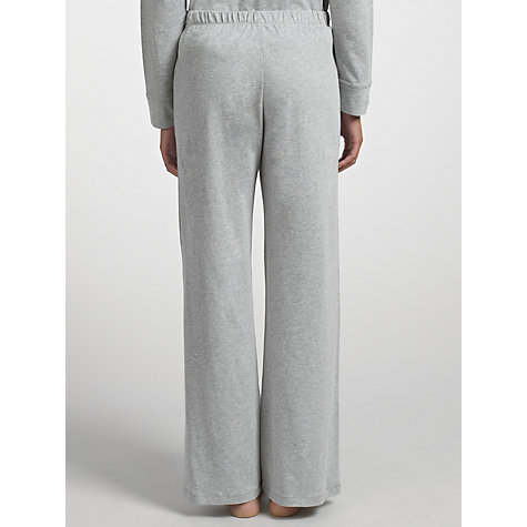 Buy John Lewis Long Pyjama Bottoms, Grey Online at johnlewis.com