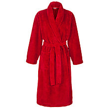 Buy John Lewis Fleece Waffle Robe Online at johnlewis.com