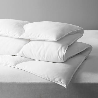 John Lewis Soft Touch Washable Duvet, 10.5 Tog