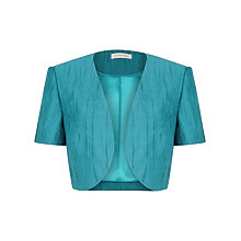 Buy Windsmoor Crinkle Bolero, Green Online at johnlewis.com