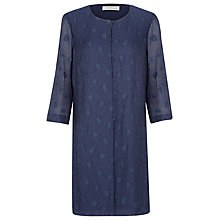 Buy Windsmoor Soft Longline Jacket, Navy Online at johnlewis.com