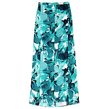 Buy Windsmoor Daisy Print Skirt, Blue Online at johnlewis.com