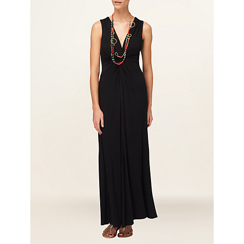 Buy Phase Eight Samantha Maxi Dress, Black Online at johnlewis.com