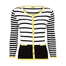 Buy Precis Petite Modern Striped Cardigan, Multi Online at johnlewis.com