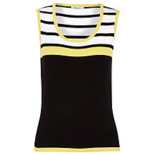 Buy Precis Petite Colour Block Knitted Top, Multi Online at johnlewis.com