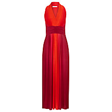 Buy Precis Petite Ombre Maxi Dress, Red Online at johnlewis.com
