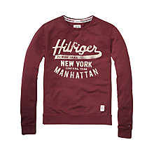 Buy Hilfiger Denim Leo Crew Neck Jumper Online at johnlewis.com