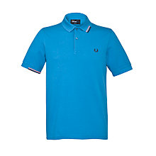 Buy Fred Perry Start Stop Tipping Polo Shirt Online at johnlewis.com