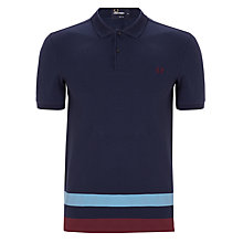 Buy Fred Perry Oversize Stripe Polo Shirt Online at johnlewis.com
