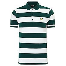 Buy Lyle & Scott Block Stripe Polo Shirt Online at johnlewis.com