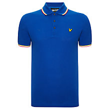 Buy Lyle & Scott Vintage Tipped Polo Shirt Online at johnlewis.com