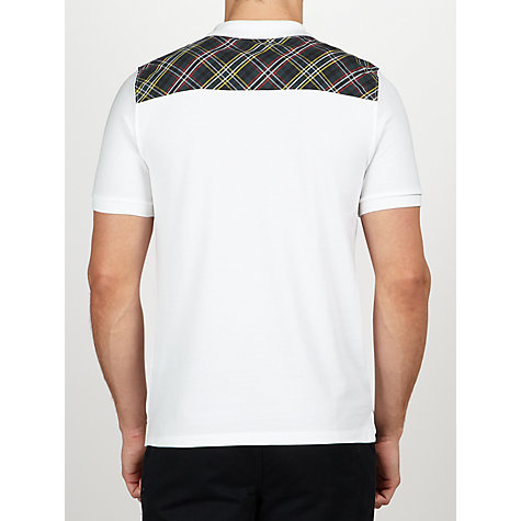 Buy Lyle & Scott Vintage Tartan Yoke Polo Shirt Online at johnlewis.com