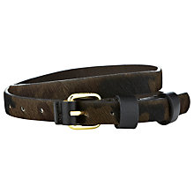 Buy Whistles Camo Jeans Belt, Green Multi Online at johnlewis.com
