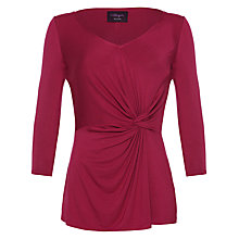 Buy allegra by Allegra Hicks Mia Top, Cerise Online at johnlewis.com