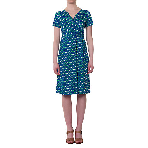 Buy allegra by Allegra Hicks Harper Dress, Circles Blue Online at johnlewis.com