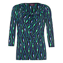 Buy allegra by Allegra Hicks Abigail Top, Jewels Green Online at johnlewis.com