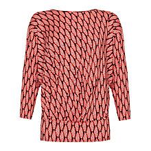 Buy allegra by Allegra Hicks Azara Top, Shell Pink Online at johnlewis.com