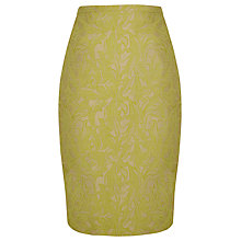 Buy Alexon Jacquard Skirt, Green Online at johnlewis.com