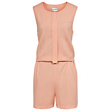 Buy Reiss Samba Open Back Jumpsuit, Apricot Online at johnlewis.com