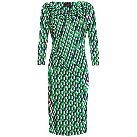 Buy allegra by Allegra Hicks Avery Dress, Raindrop Green Online at johnlewis.com
