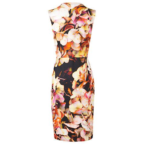 Buy L.K. Bennett Teos Floral Dress, Multi Online at johnlewis.com
