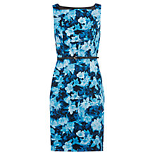 Buy Oasis Belted Floral Dress, Multi Online at johnlewis.com