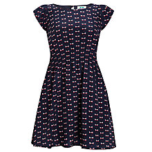Buy Yumi Girl Mala Dress, Navy Online at johnlewis.com