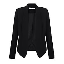 Buy COLLECTION by John Lewis Haven Edge To Edge Jacket, Black Online at johnlewis.com