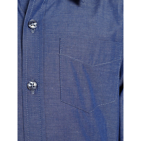 Buy John Lewis Heirloom Collection Hudson Long Sleeved Shirt, Blue Online at johnlewis.com