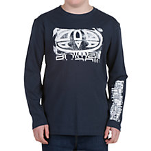 Buy Animal Boys' Breeze Long Sleeve Top Online at johnlewis.com