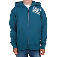 Buy Animal Boys' Zip Front Hoodie, Teal Online at johnlewis.com
